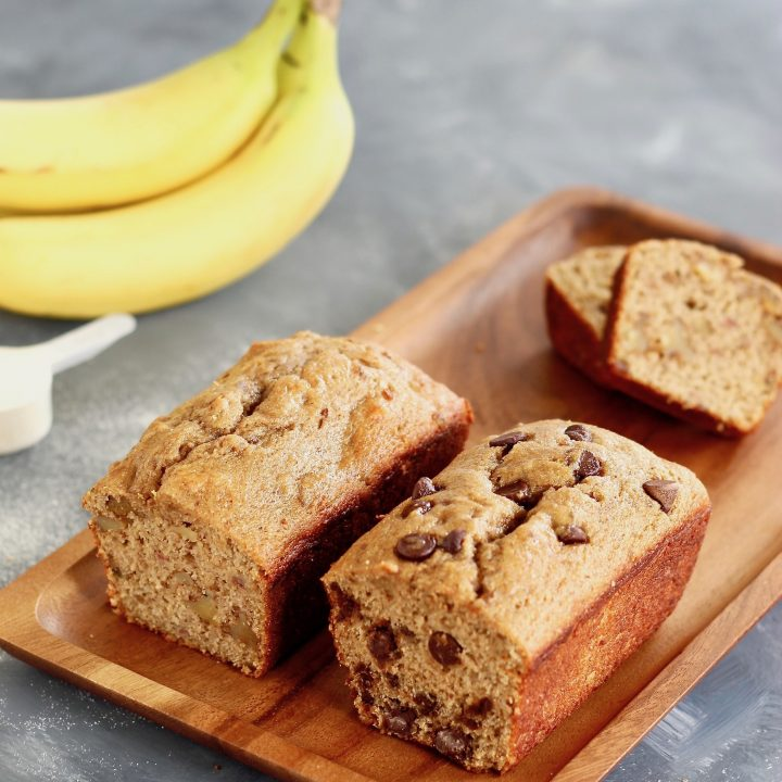 Protein-Packed Collagen Banana Bread