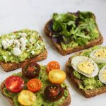 Garlic Avocado Toast 4 Ways